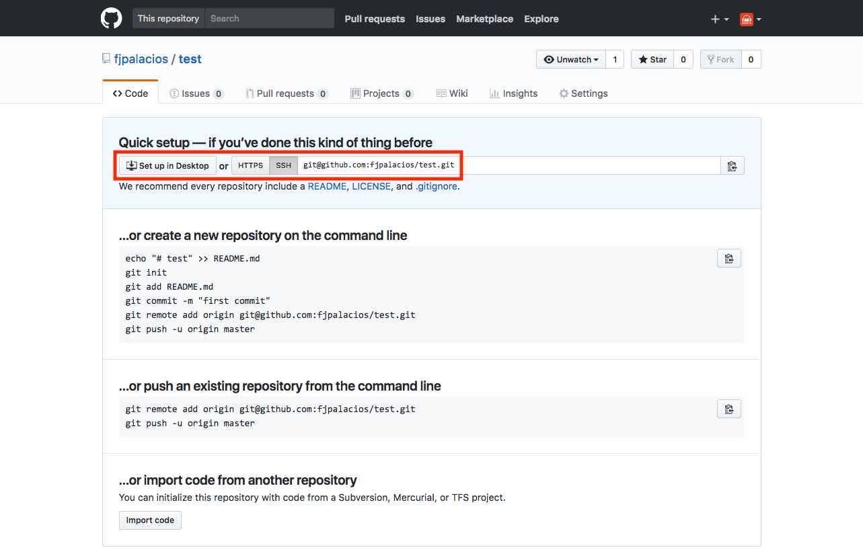 Nuestro nuevo repositorio en GitHub